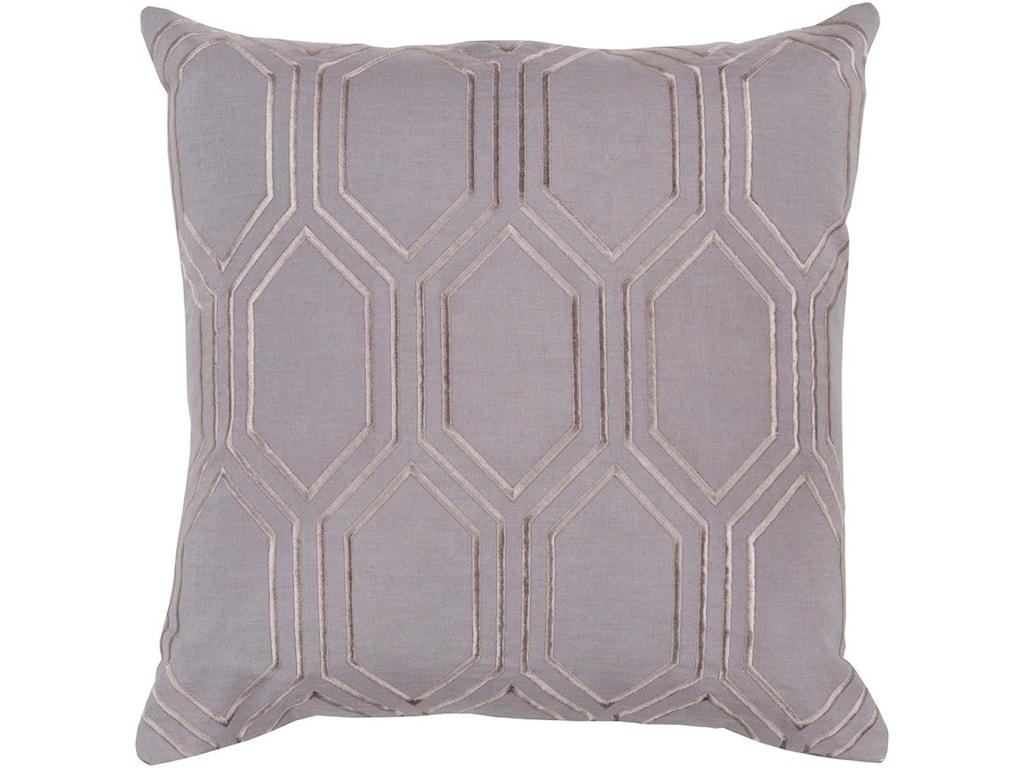 Surya Skyline22 x 22 x 5 Polyester Throw Pillow