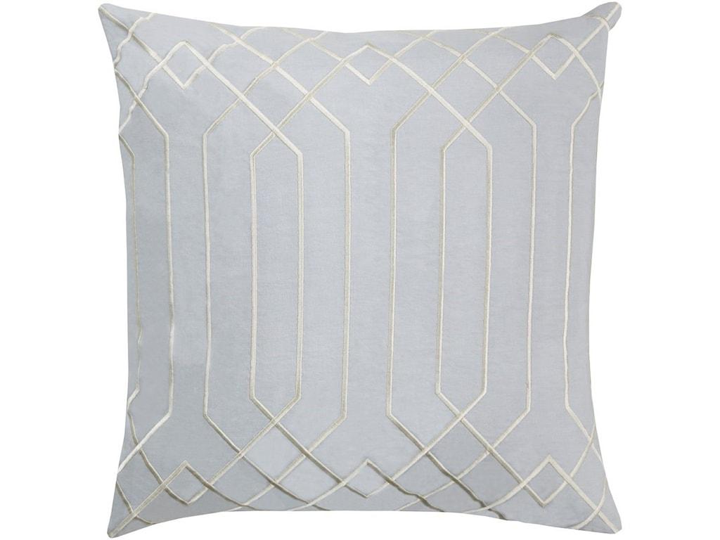 Surya Skyline18 x 18 x 4 Down Throw Pillow