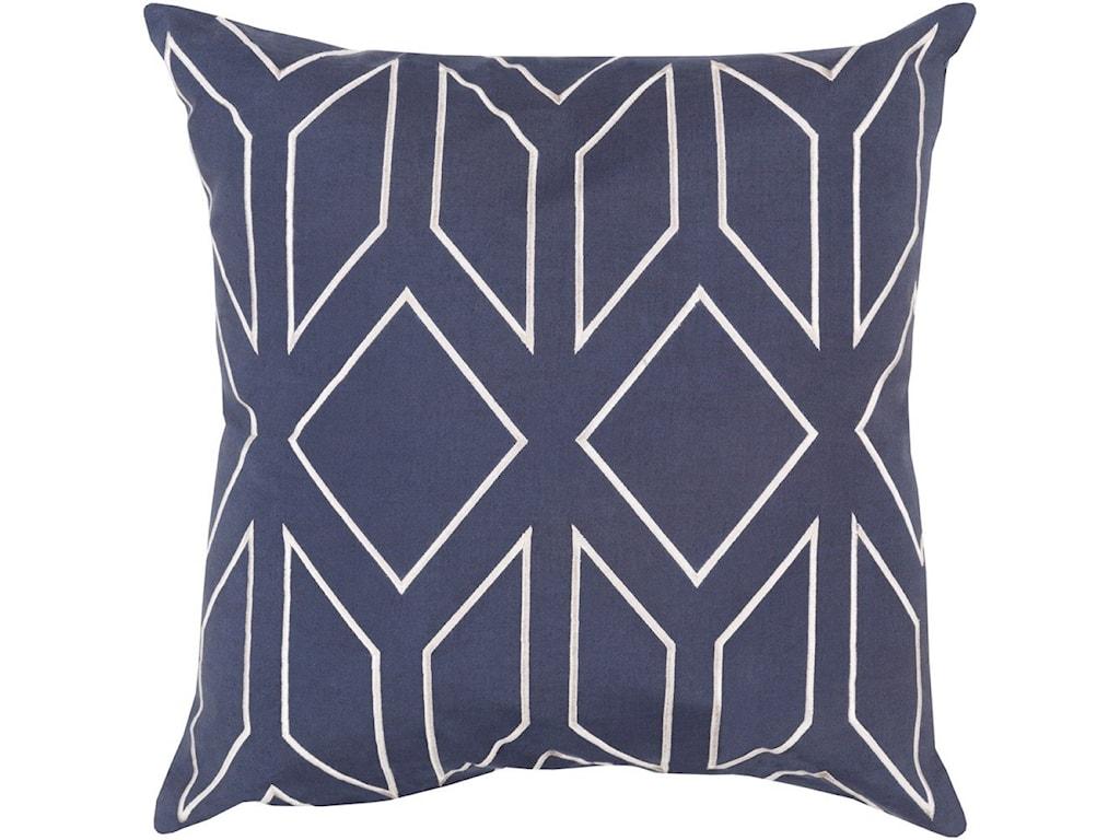 Surya Skyline18 x 18 x 4 Polyester Throw Pillow