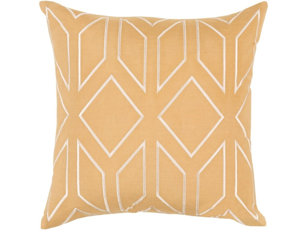 Surya Skyline22 x 22 x 5 Polyester Throw Pillow
