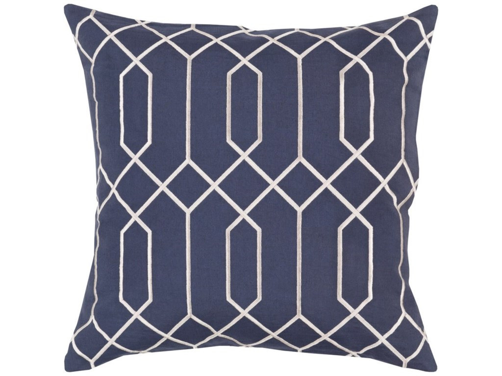 Surya Skyline18 x 18 x 4 Polyester Throw Pillow