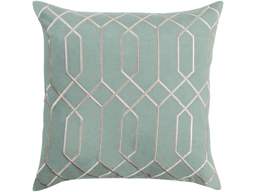 Surya Skyline22 x 22 x 5 Down Throw Pillow