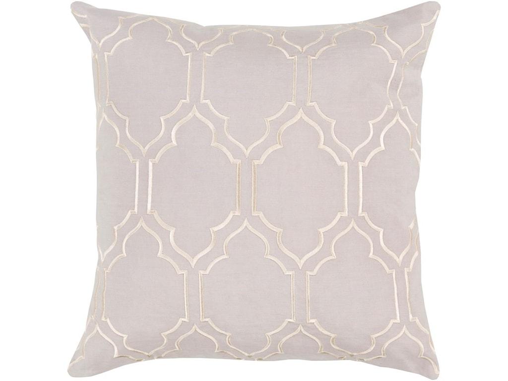 Surya Skyline20 x 20 x 4 Polyester Throw Pillow