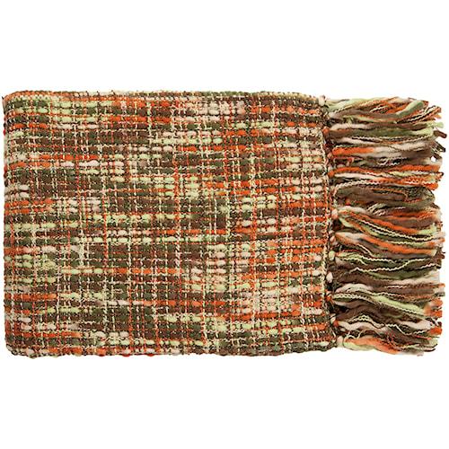 Surya Throw Blankets Tabitha 50