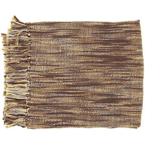 Surya Throw Blankets Teegan 55