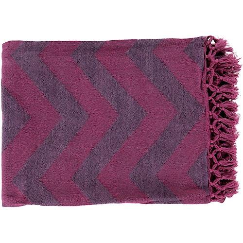 Surya Throw Blankets Thacker 50