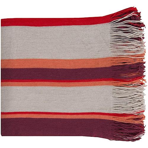 Surya Throw Blankets Topanga 50