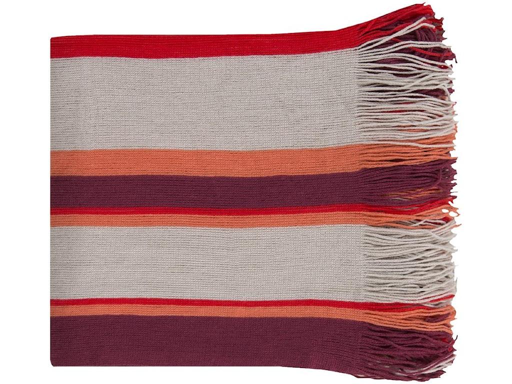 Surya Throw BlanketsTopanga 50