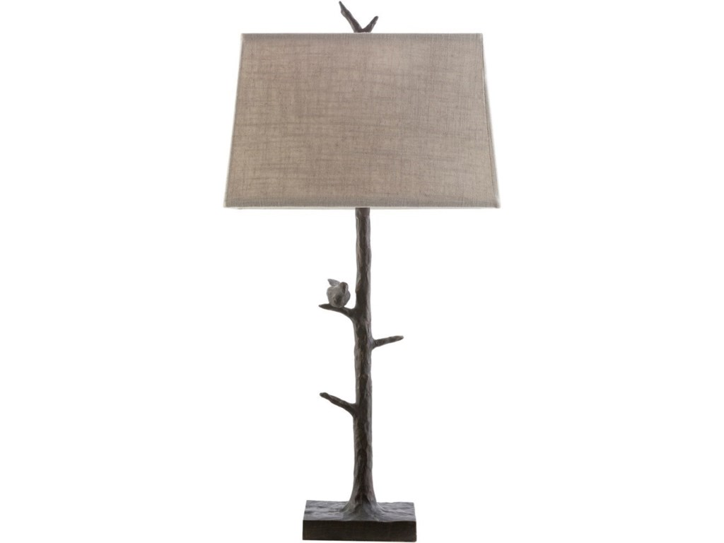Ruby-Gordon Accents WeberBronze Rustic Table Lamp