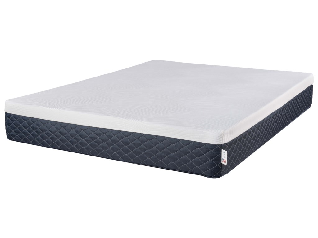 Symbol Mattress Atlantis 10Queen Bed-In-A-Box Mattress