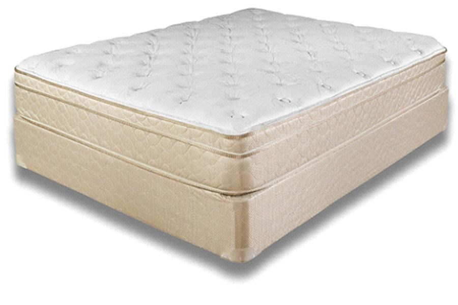Symbol Mattress Comfort InnovationTwin Edison Euro Pillow Top Mattress