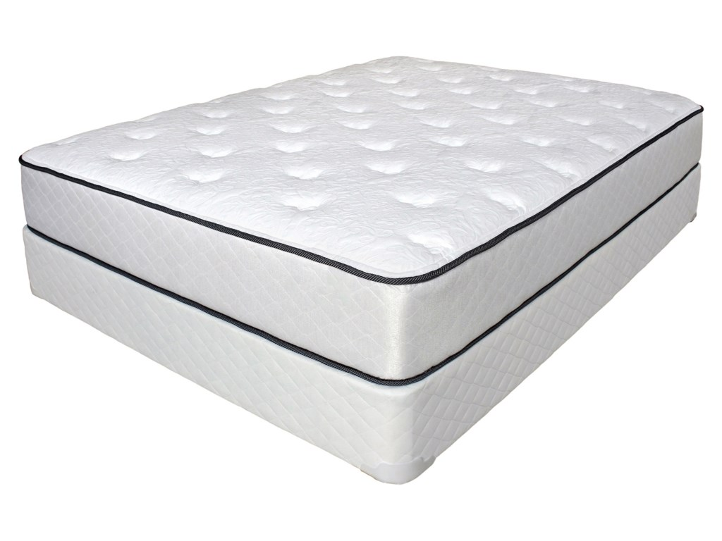 Symbol Mattress DogwoodKing Pocketed Coil Mattress Set