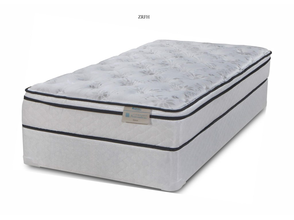Symbol Mattress SB EdisonQueen Pillow Top Mattress Set