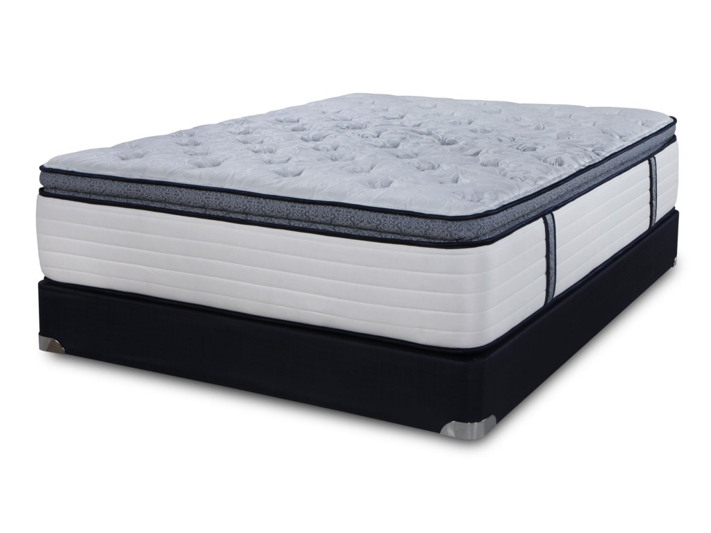 Symbol Mattress SB Signature Summit TopQueen Summit Top Mattress Set