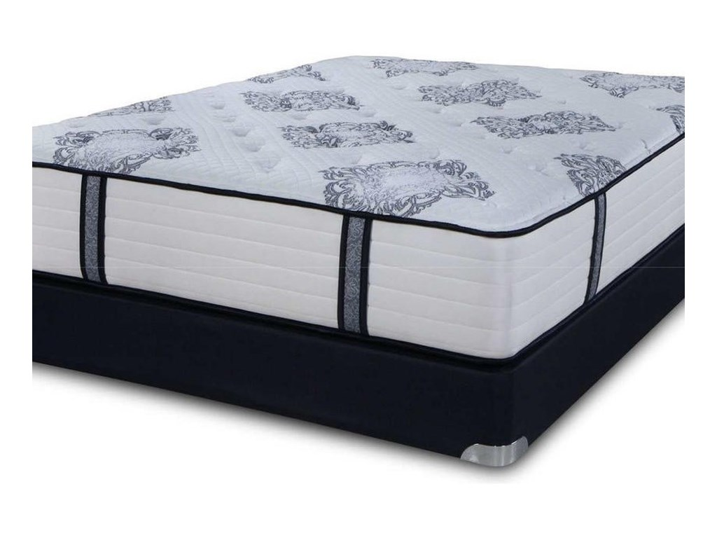 Symbol Mattress The Luxury Signature FirmTwin Coil on Coil Firm Luxury Mattress Set