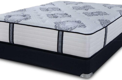 Symbol Mattress The Luxury Signature Firm King Coil on Coil Firm Luxury Mattress