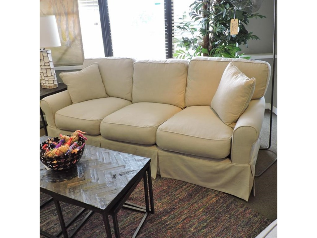 Synergy Furniture Industries Nancyslipcovered Sofa
