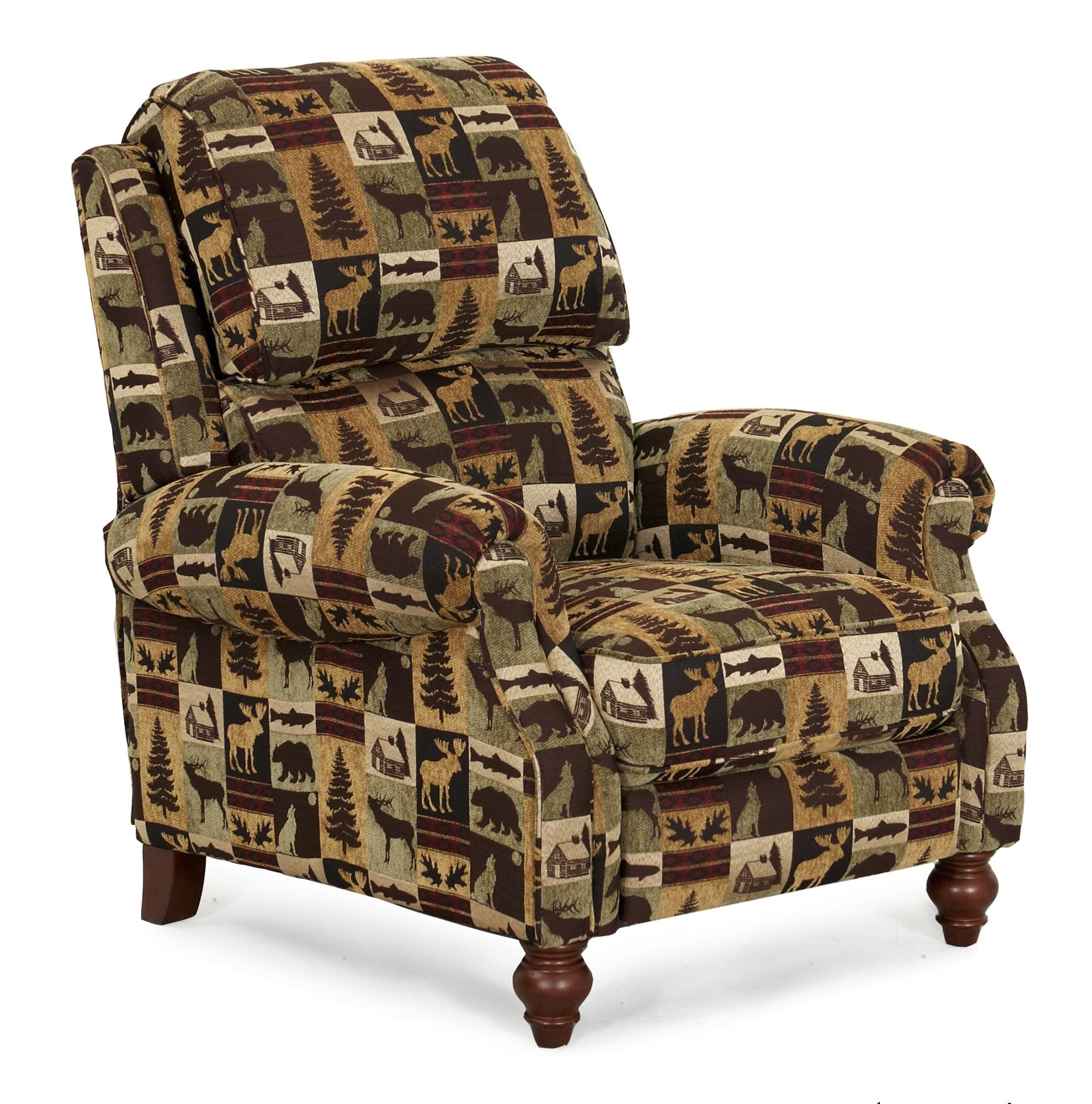 Synergy Home Furnishings 1033 Casual Three Way Recliner with Push Thru Arms  sc 1 st  Zak\u0027s Fine Furniture & Synergy Home Furnishings 1033 Casual Three Way Recliner with Push ...