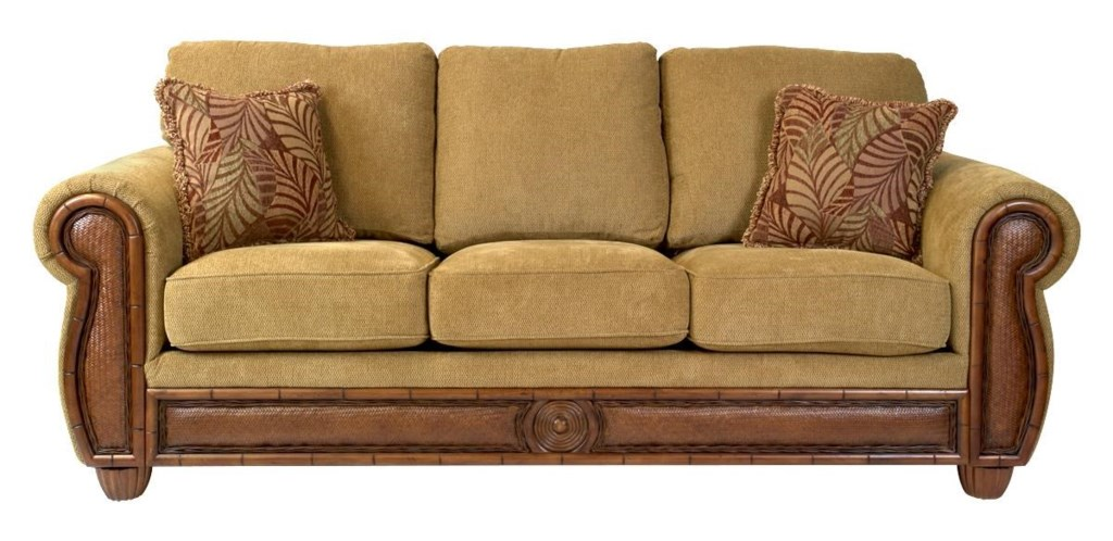 synergy home furnishings key largo queen sofabed - homeworld