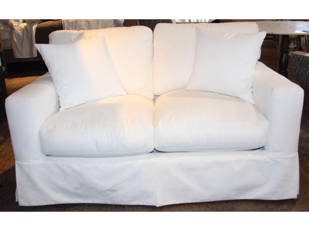 Home Expressions 1205Down Slipcover Loveseat
