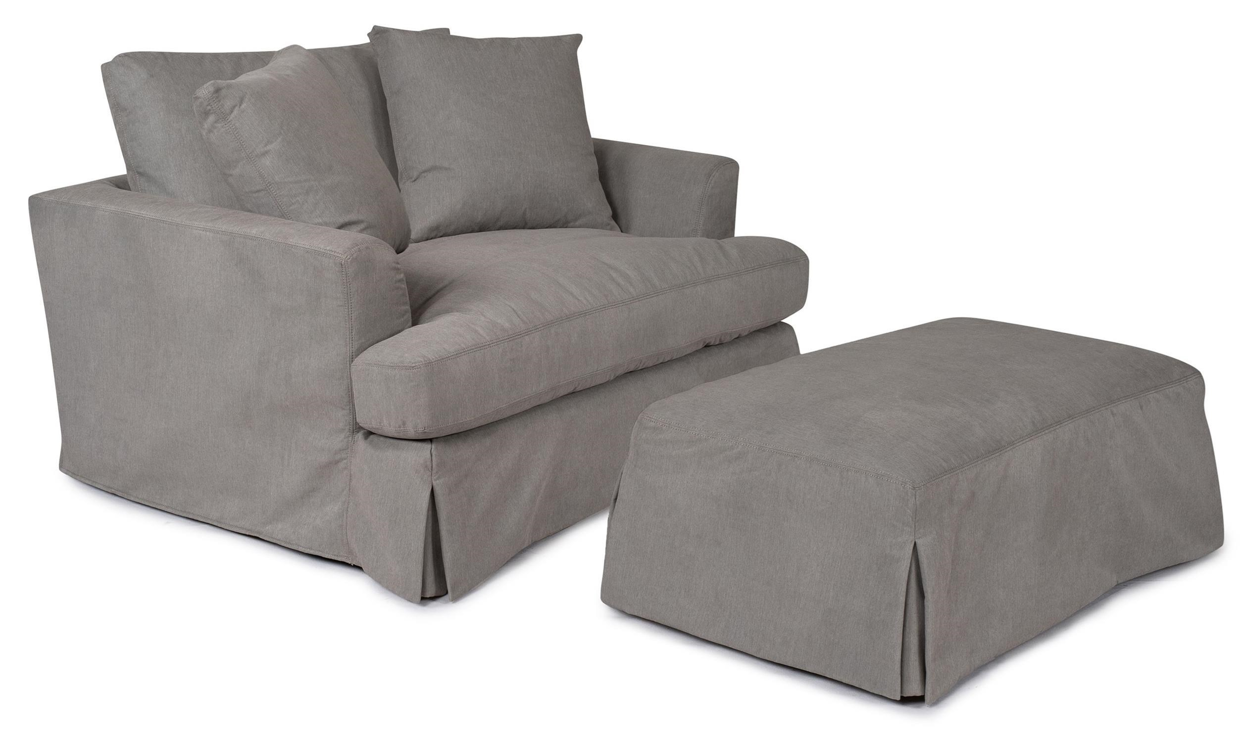 Amazing Slipcover Chair And A Half #22 - ... Synergy Home Furnishings 1300Chair And A Half
