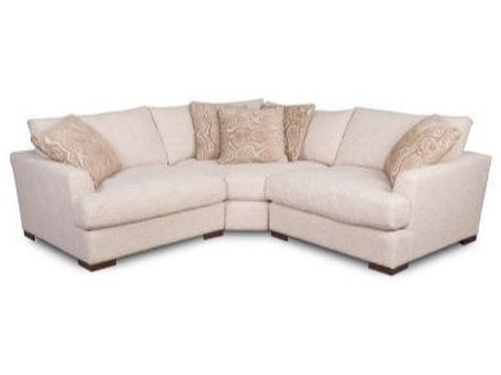 Synergy Home Furnishings 13253 Pc Sectional /Redondo Sand