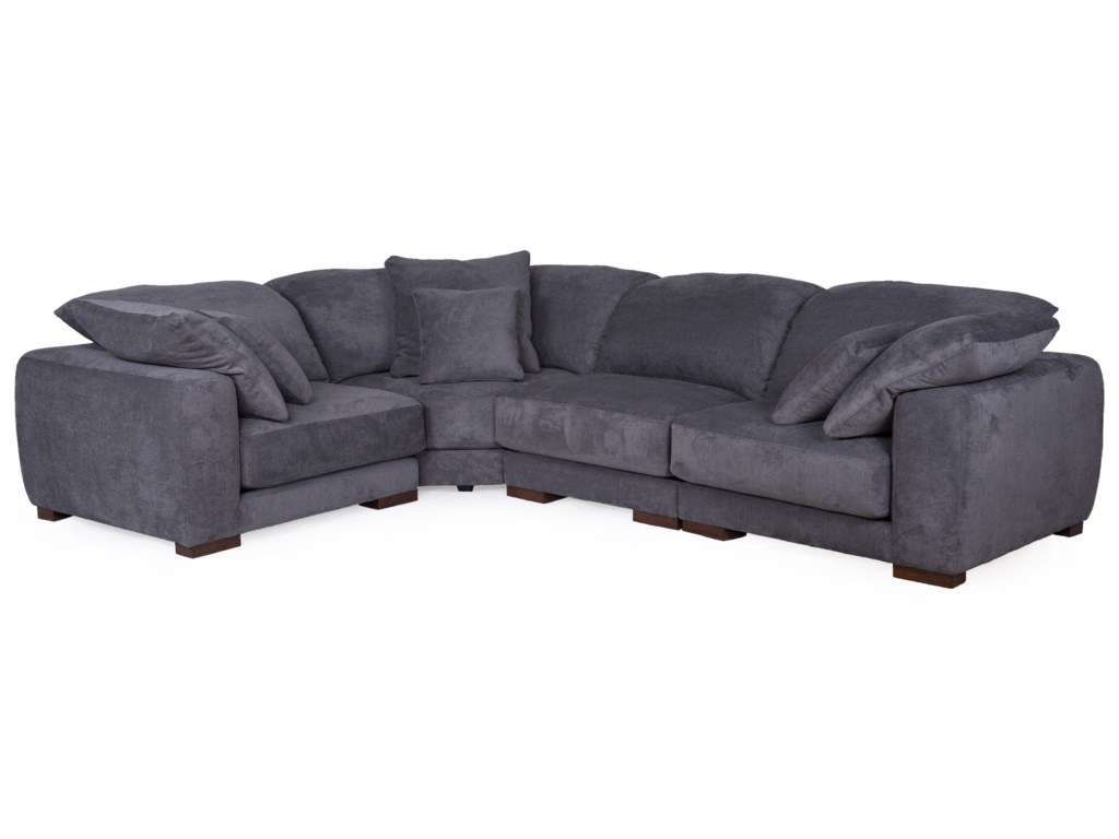 Home Expressions 1353Sectional Sofa