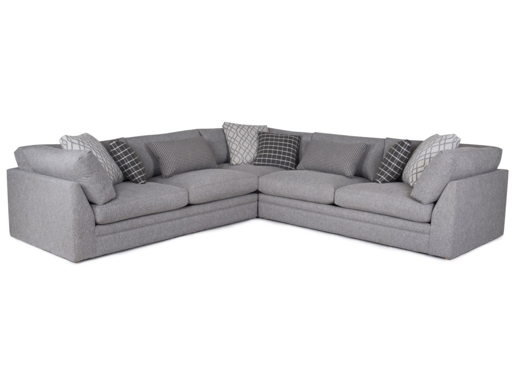 Home Expressions 1483Transitional Sectional