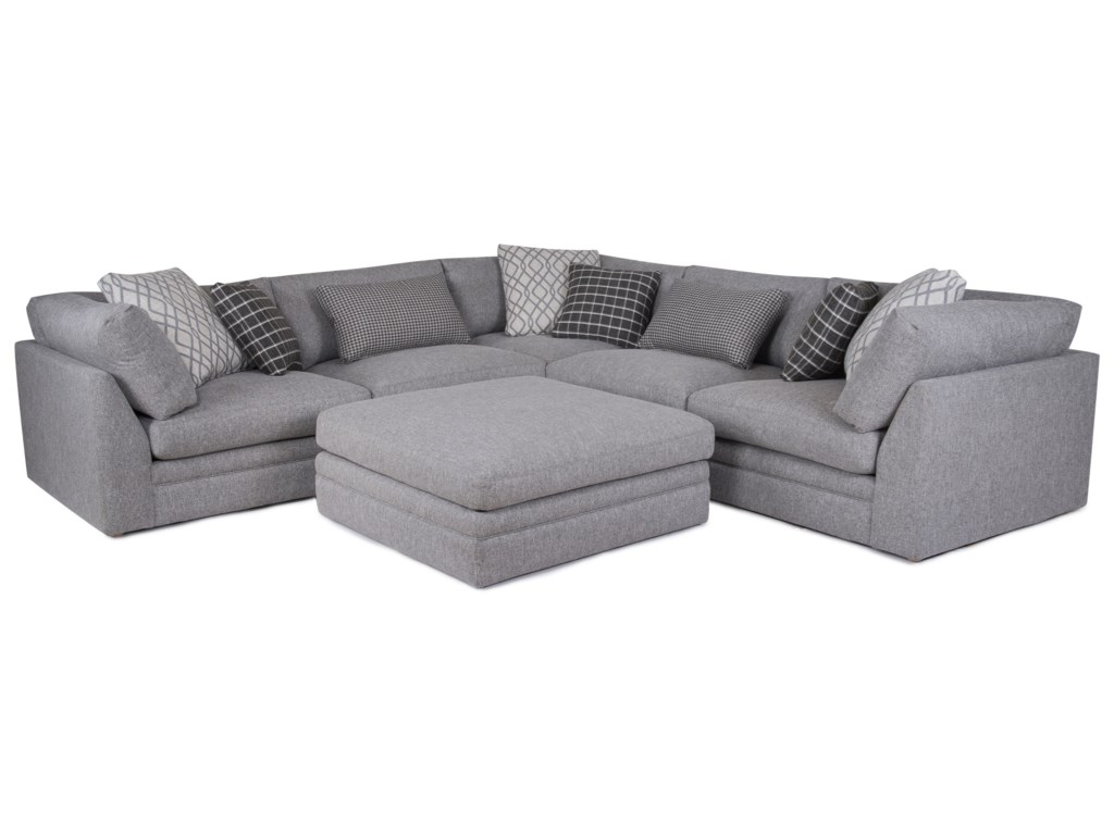 Synergy Home Furnishings 1483Transitional Sectional