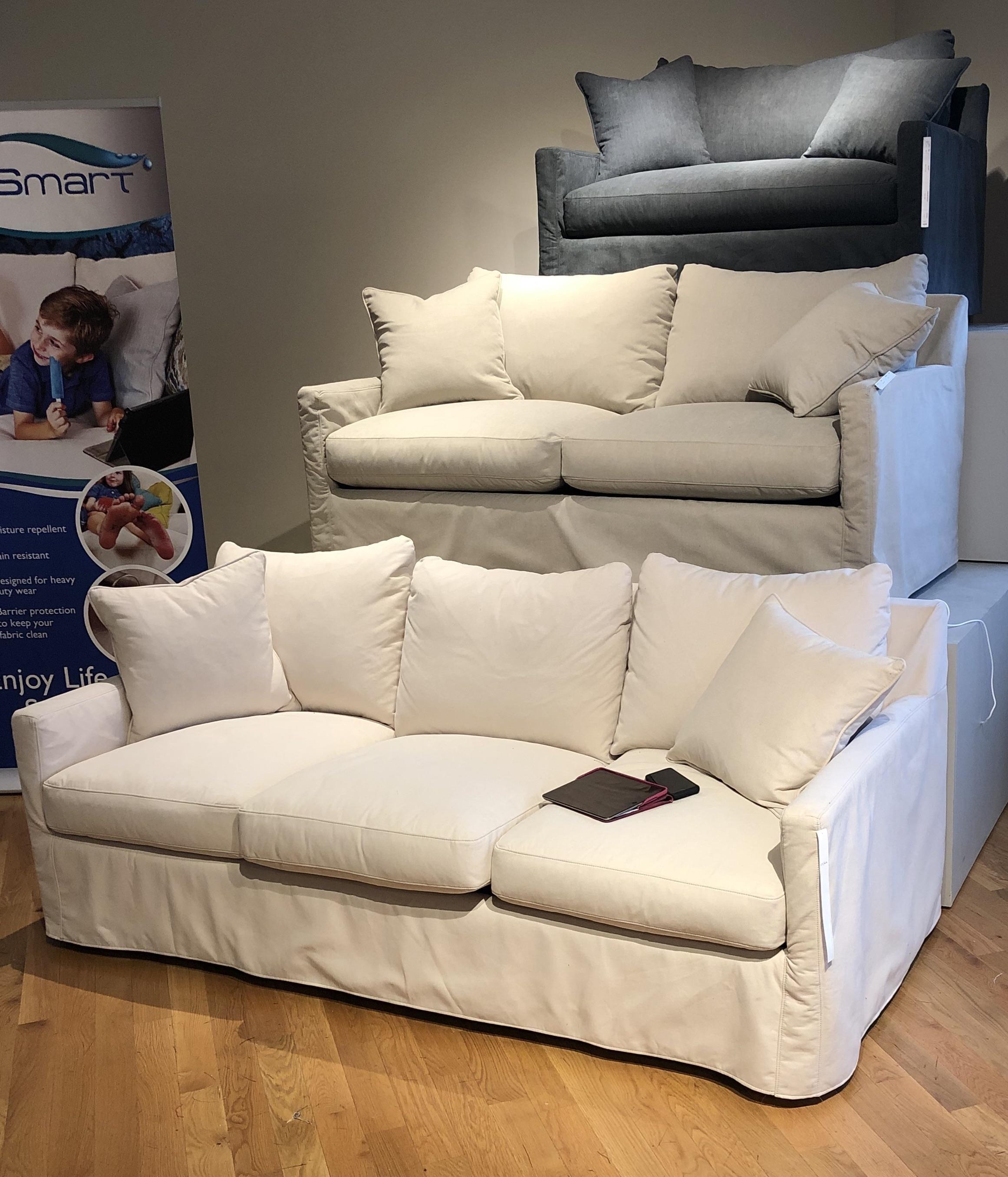 - 1538 Down Twin Size Memory Foam Sleeper Sofa Reeds Furniture