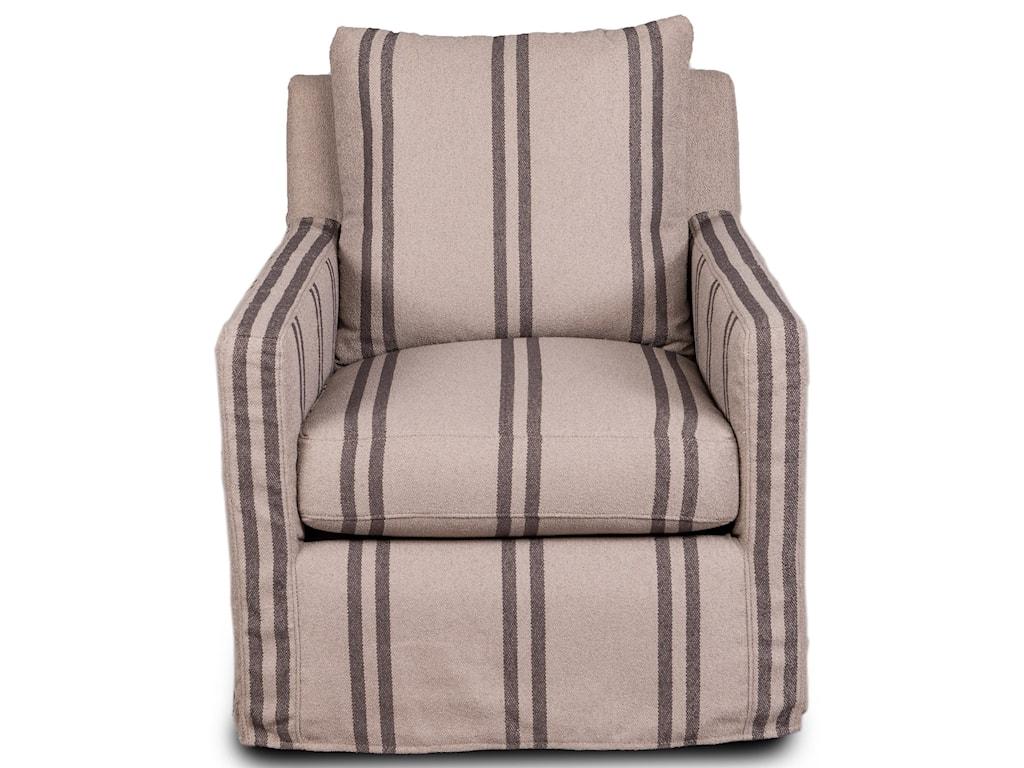 Synergy Home Furnishings 1595Slipcover Swivel Glider Chair
