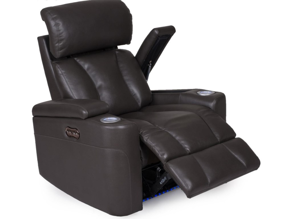 Synergy Home Furnishings 1637Wall Proximity Recliner with Power Headrest