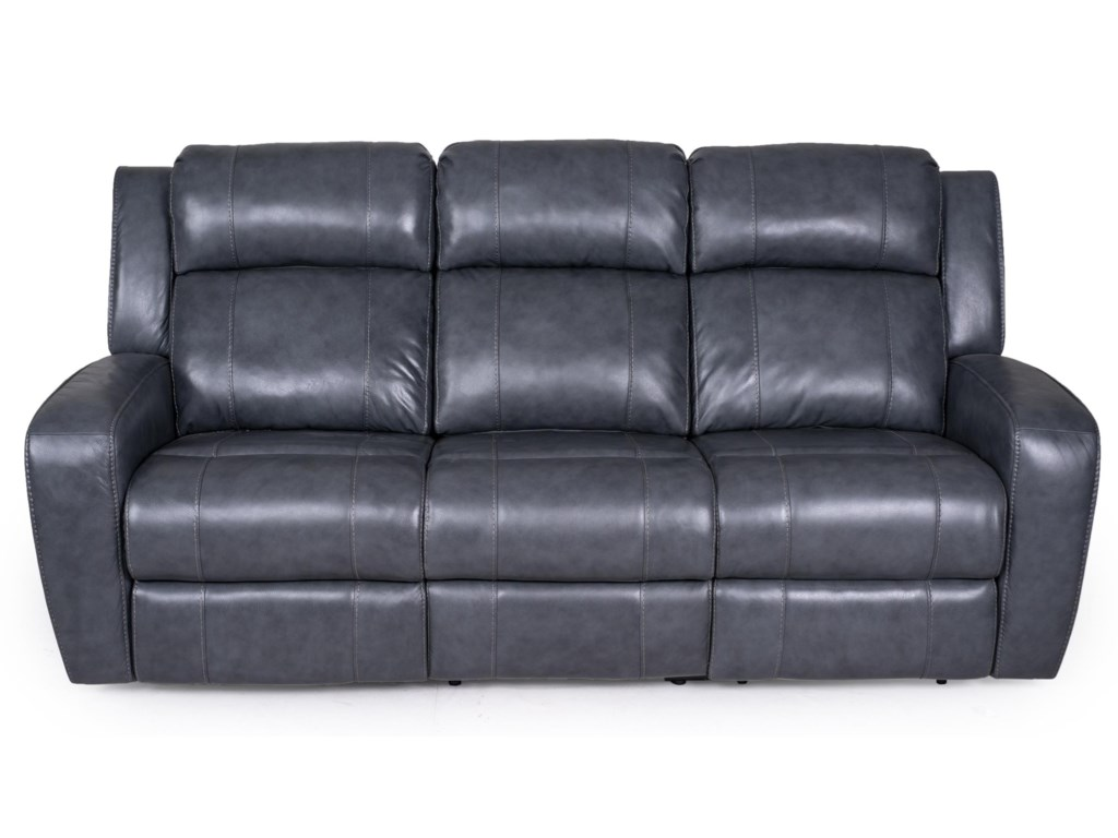 Synergy Home Furnishings 1638Sofa - Recliner w/ Power Headrest