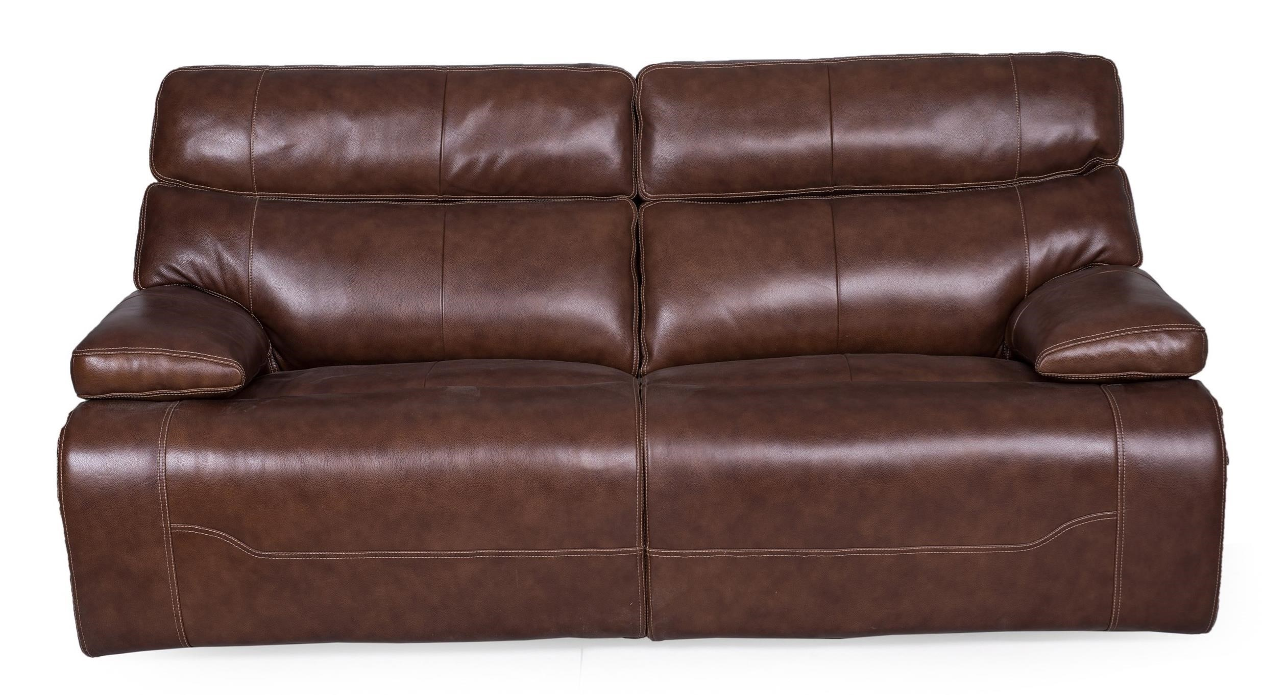 2 Seat Power Reclining Sofa with Power Head/Lumbar and USB Ports