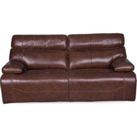 Reclining Sofa w/pwr Headrest & Lumbar