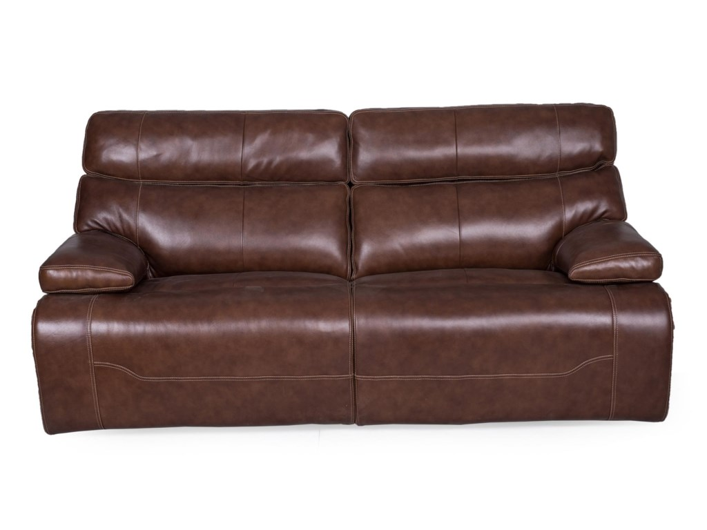 1684 2 Seat Power Reclining Sofa with Power Head/Lumbar and USB Ports by  Synergy Home Furnishings at Rife\'s Home Furniture
