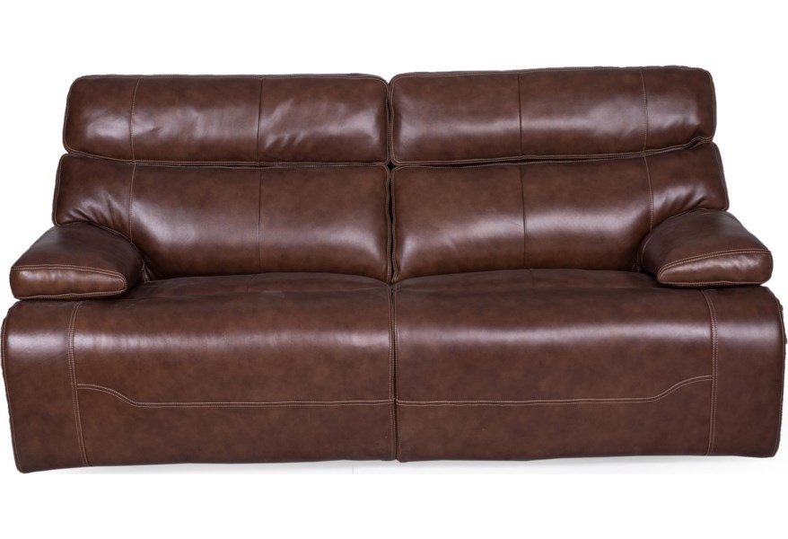 1684 Reclining Sofa w/pwr Headrest & Lumbar