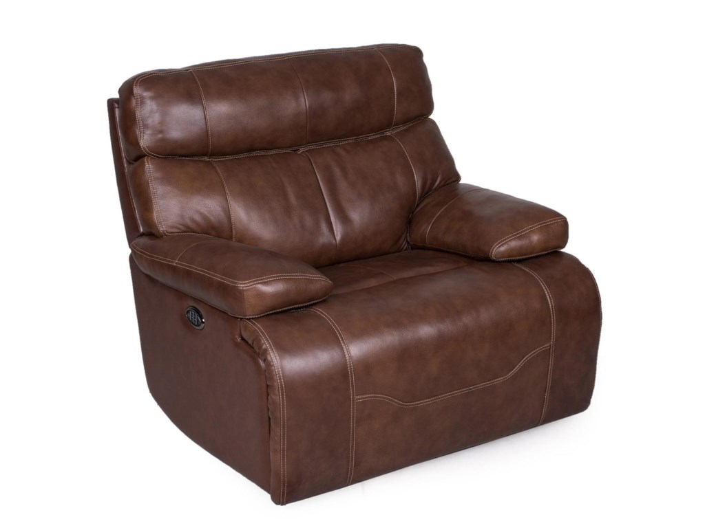 Synergy Home Furnishings 1684Wall Recliner w/ Pwr Headrest & Lumbar