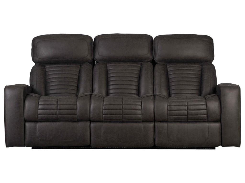 Builtwell 35776Reclining Sofa with Power Headrests