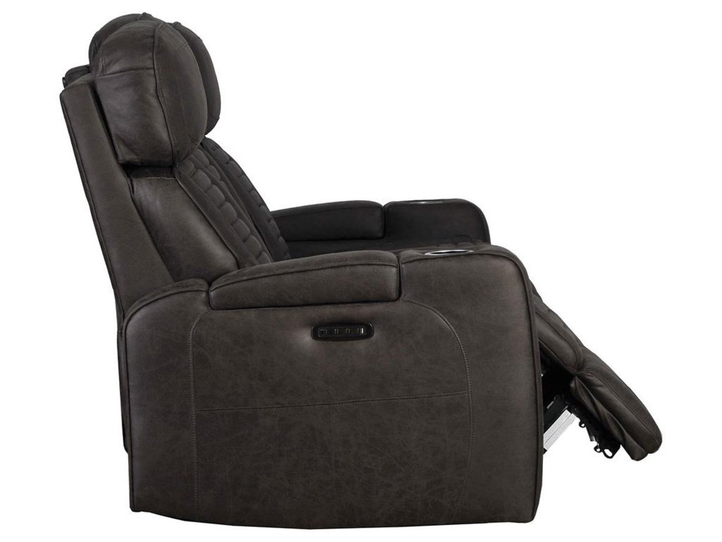 Builtwell 1814Reclining Sofa with Power Headrests