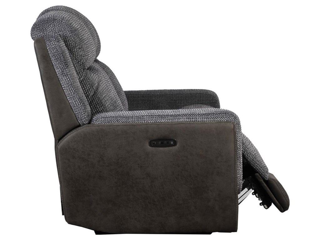 Builtwell 1815Reclining Sofa with Power Headrests