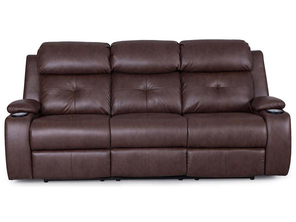 Synergy Home Furnishings 446reclining Sofa