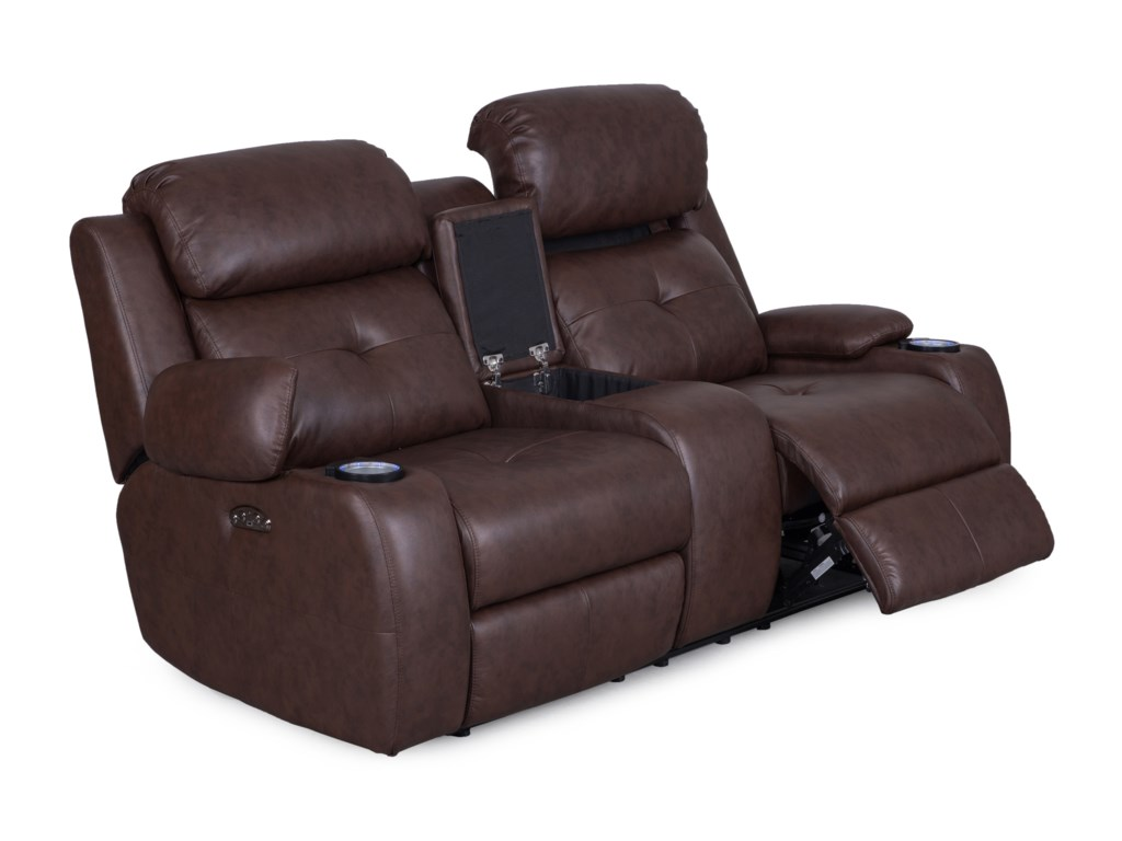 Synergy Home Furnishings 446Reclining Loveseat