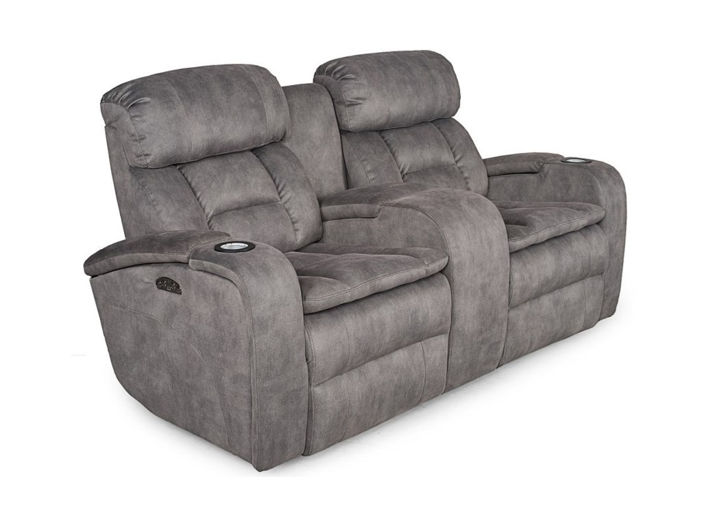 Synergy Home Furnishings 467Reclining Love Seat