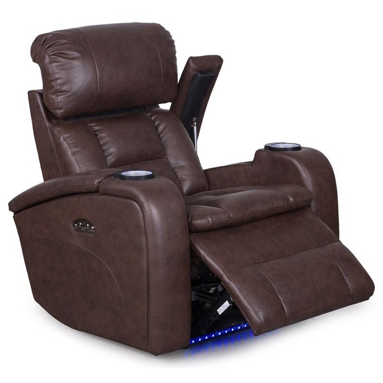 Synergy Home Furnishings 467 Casual Power Wall Hugging Recliner with Cup Holders and USB Port  sc 1 st  Rifeu0027s Home Furniture & Synergy Home Furnishings 467 Casual Power Wall Hugging Recliner ... islam-shia.org