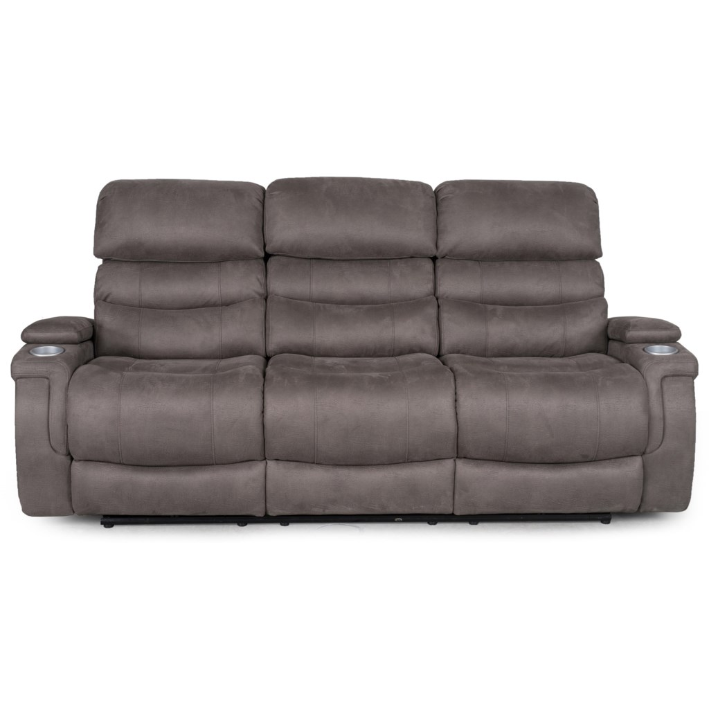 Sarah Randolph Designs 494 Power Reclining Sofa With Cooling Cup