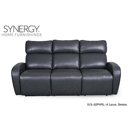 Synergy Home Furnishings 513 Seal Power Sofa