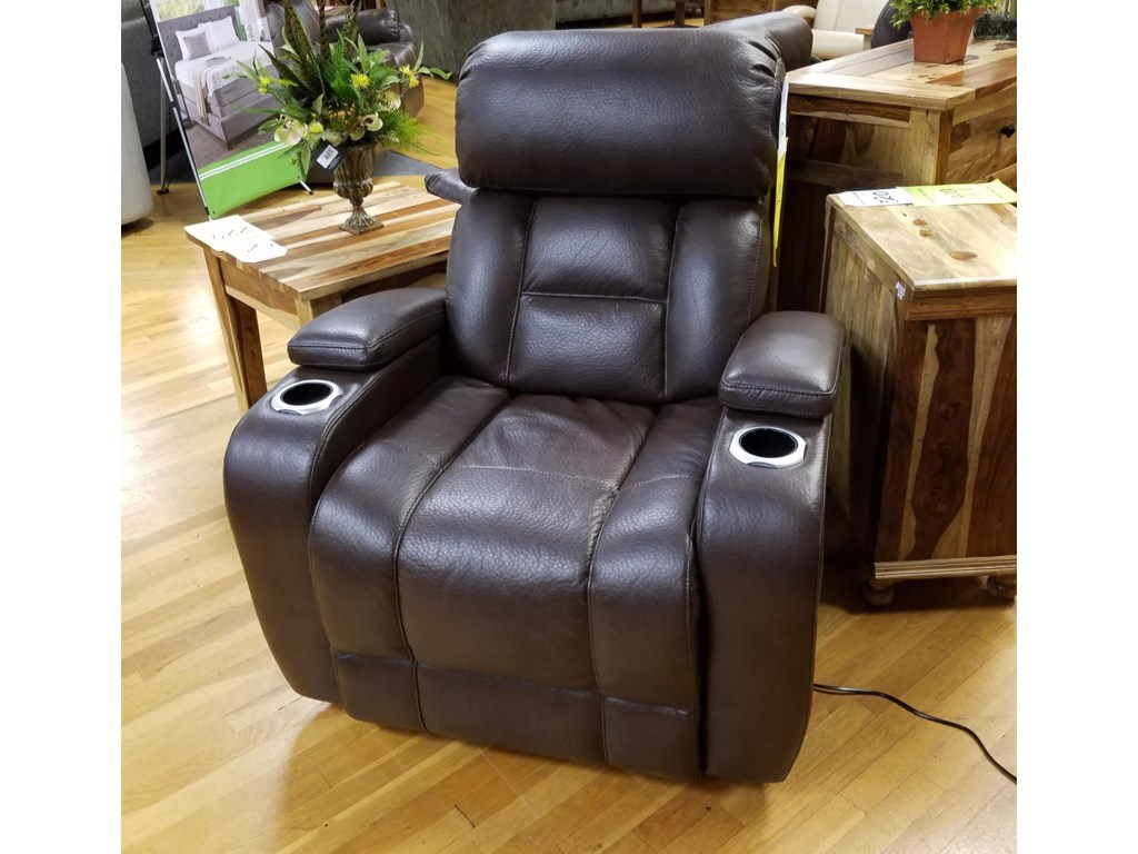 Synergy Home Furnishings 540Power Recliner with Power Headrest
