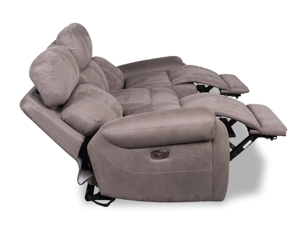 Synergy Home Furnishings 585Power Headrest Reclining Sofa