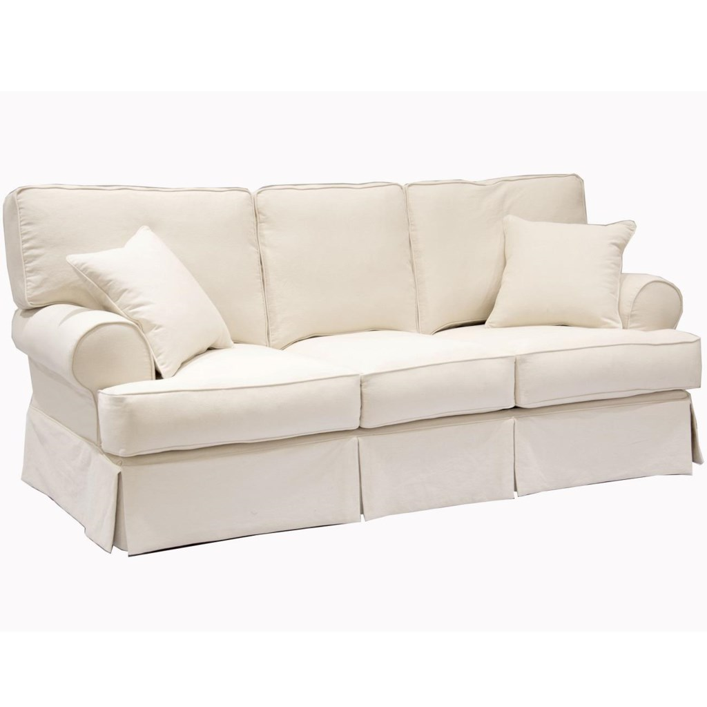 Synergy Home Furnishings 669 Casual Sofa With Rolled Sock Arms